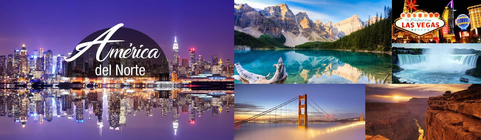 Viajes a América del Norte